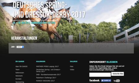 Das Hamburger Spring- und Dressur-Derby