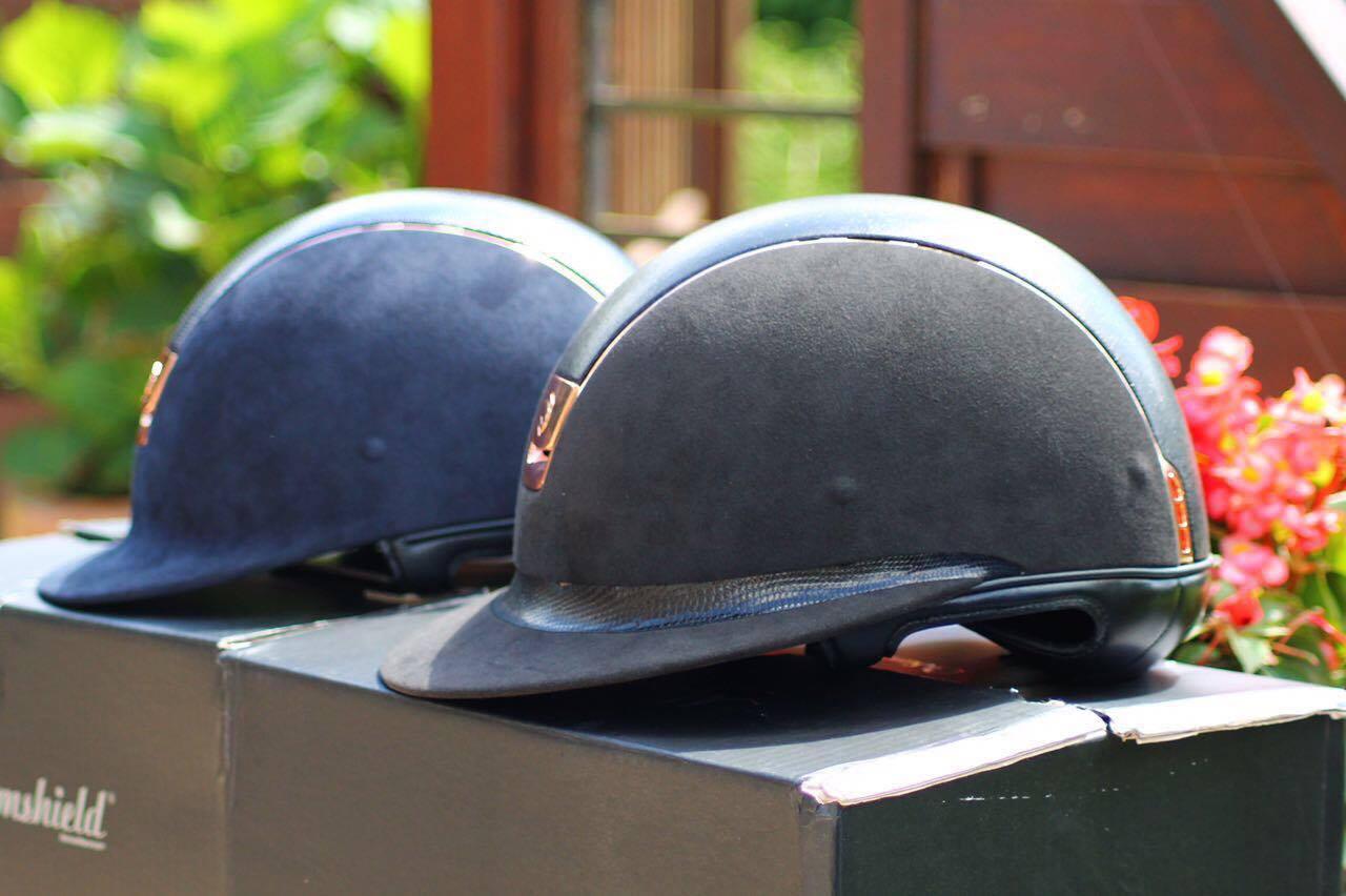 Roségold und Schlangenleder: unsere neuen Samshield Helme 8