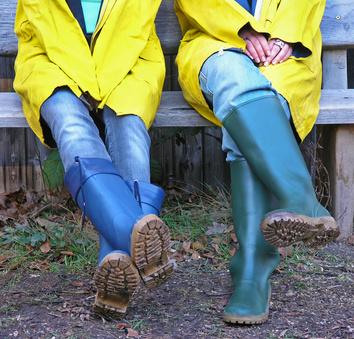 Regenbekleidung für Reiter
